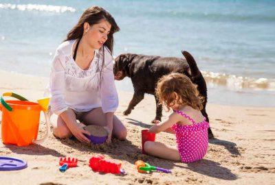 strandvakantie eenoudervakantie